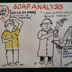 The humourous side of condition monitoring shown around the conference