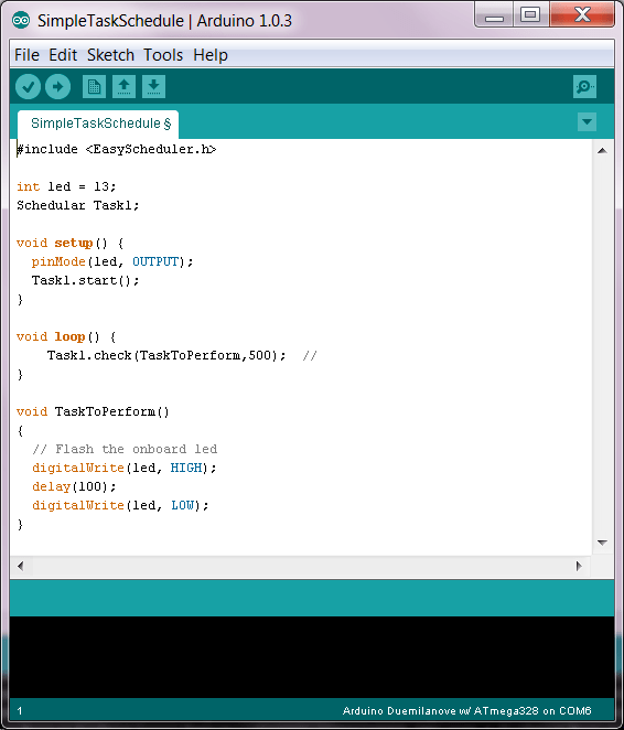 Arduino – Quick And Easy Task Scheduler | Protoneer co nz