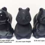 3D Printing – Finishing printed items making them look like they were injection-molded.
