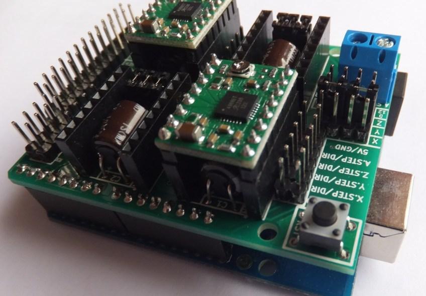 Arduino-CNC-Shield-V3-Right   Protoneer co nz