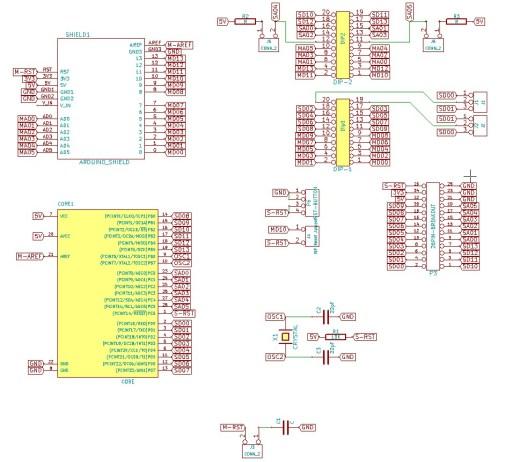 Arduino more core shield schematics protoneer nz