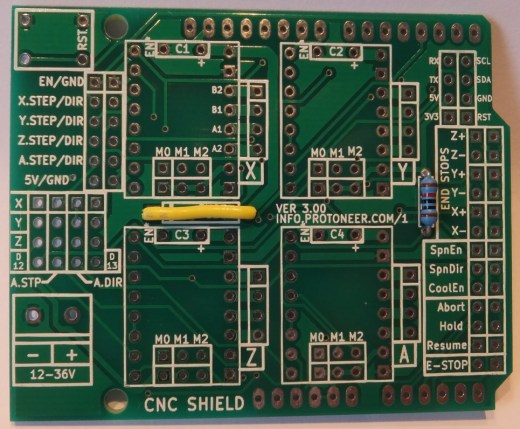 Arduino-CNC-Shield-V3-Assemble-Step1