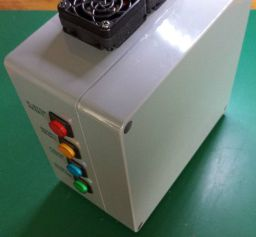 Arduino CNC Shield Raspberry Pi Enclosure- Front View
