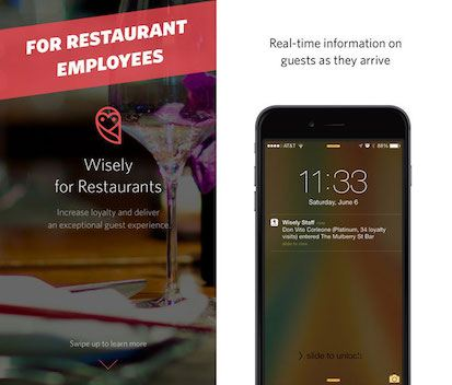 Wisely for Restaurants Screenshot