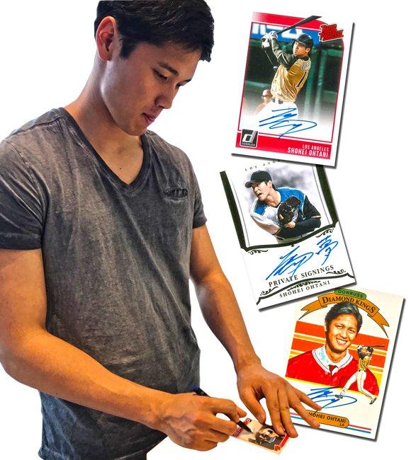 Shohei-Ohtani-signs-Panini-autographs - PSA Blog