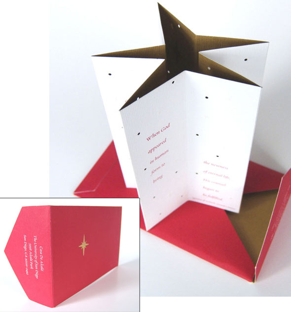5 Cool Die Cut Holiday Invitations