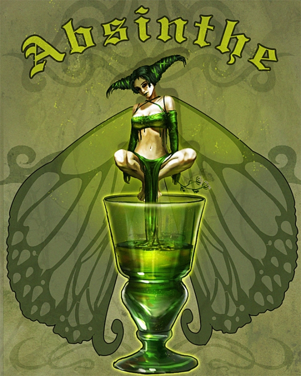 Poster do filme The Green Fairy