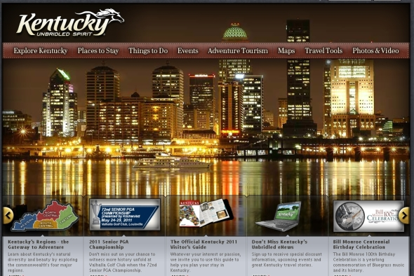The 5 Best State Tourism Home Page Designs