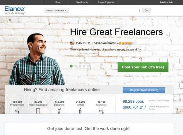 Hire freelancers and find freelance jobs instantly Elance - Google Chrome_2013-09-17_12-48-02