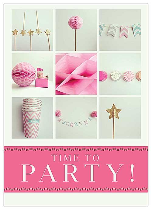 10 Cool Birthday Invitation Card Ideas