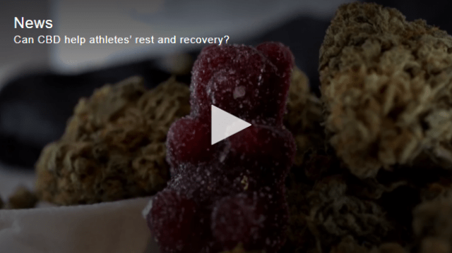Can CBD help athletes' rest and recovery?