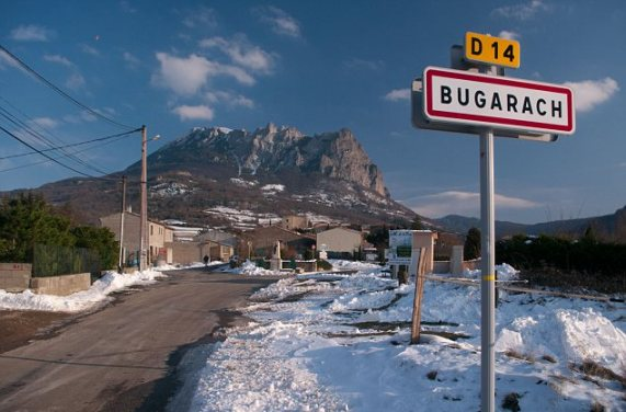 The village of Bugarach attracts many  who believe that it will survive the  end of the World 21 December 2012