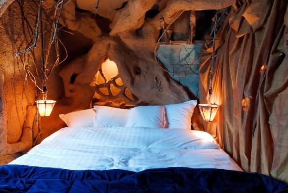 Fairytale walls at Balade de Gnomes