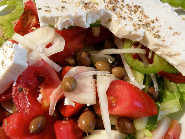 Perfect Greek Salad from PurpleTravel.co.uk