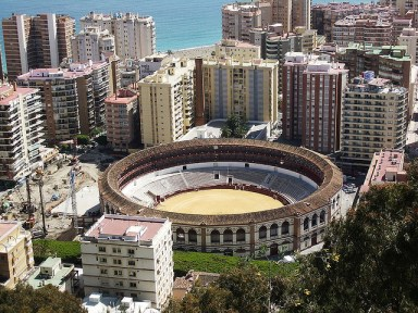 Malaga Bullring from PurpleTravel
