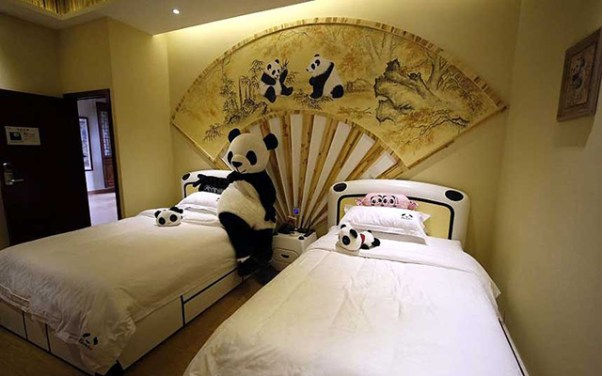 Panda hotel from Purple Travel 2