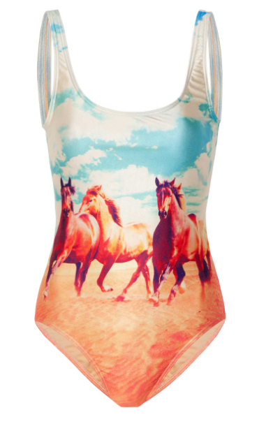 Horse swimsuit