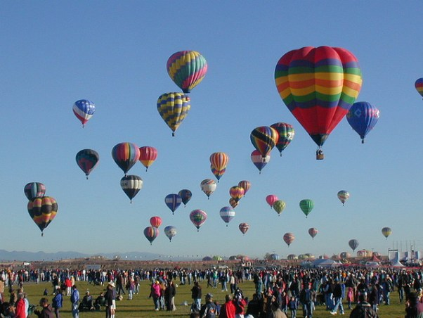 Albuquerque Balloons - Purple Travel