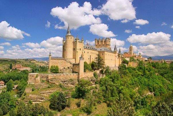 castles-spain