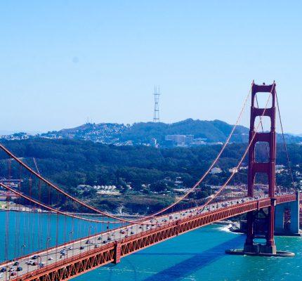 Golden Gate Bridge and Elmo