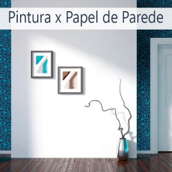 papel de parede ou pintura