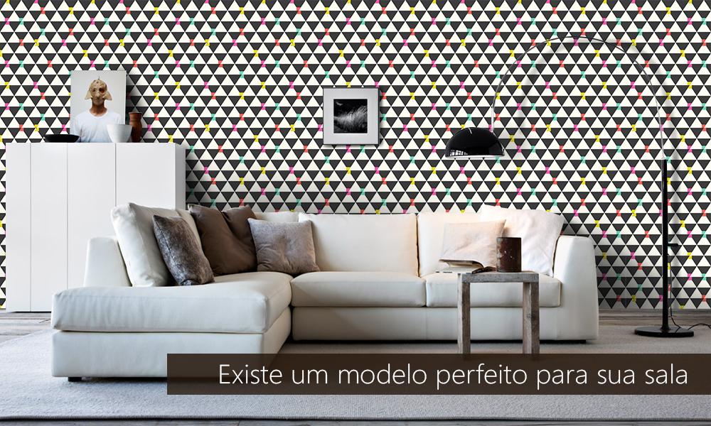 Modelos de papel perfeito para sua sala