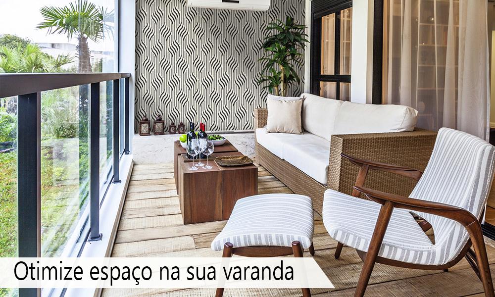 Otimize espaço na sua varanda