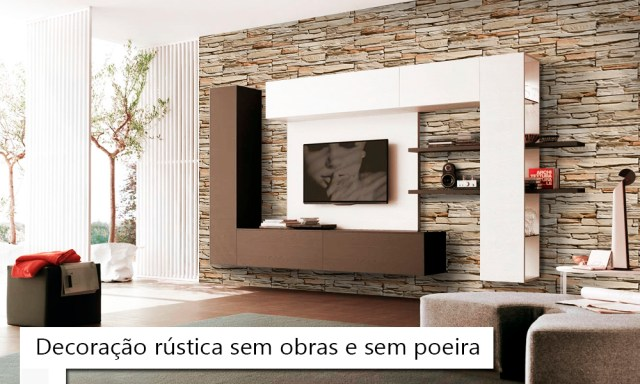 decoracao rustica