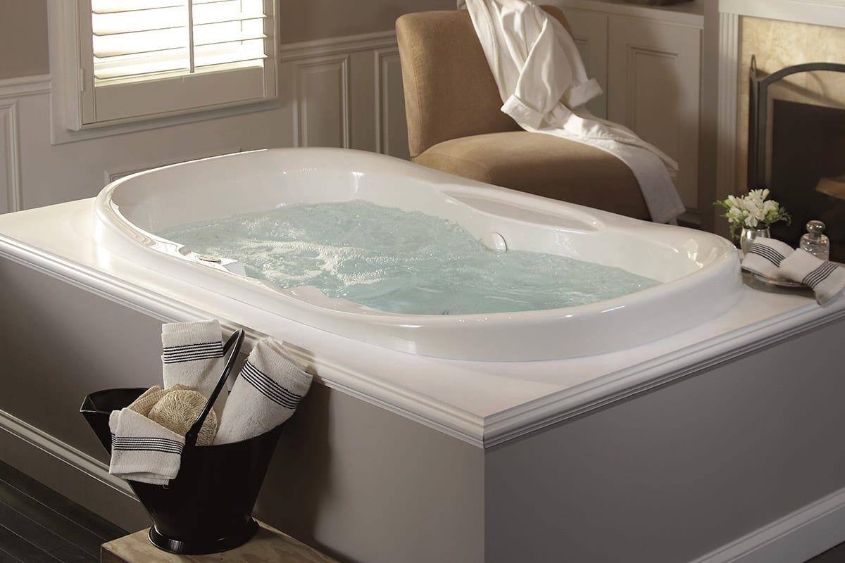 Bathtub With Jets Finest Lineaaqua Eva X Dropin Round