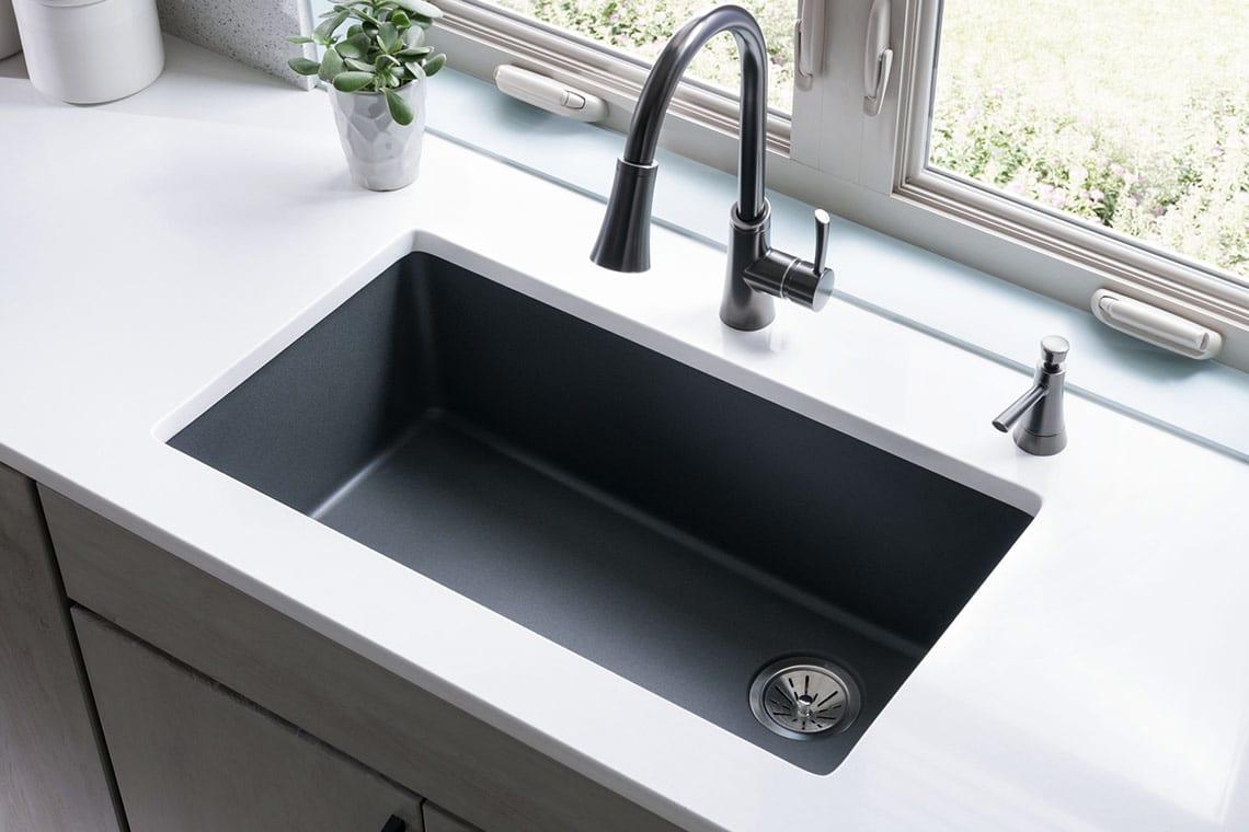 quartz kitchen sink collections