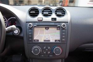 Rosen Navigation for Nissan Altima – Installed