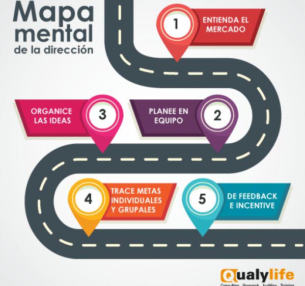 Mapa mental de dirección