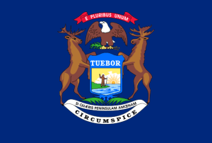 Michigan cannabis consulting flag