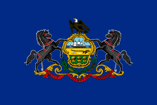 Pennsylvania cannabis consulting flag