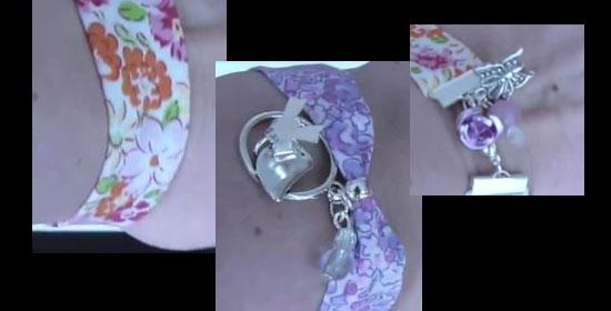 bracelet en tissu - tutoriel-diy-quartier