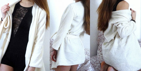 coudre une robe de chambre
