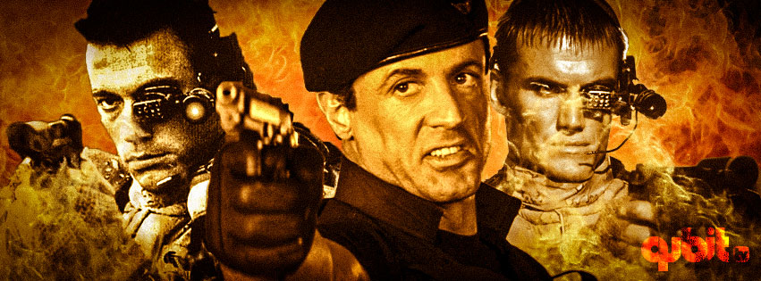 Rambo, Desafio Mortal, Demoledor, Soldado Universal, Rocky, Stallone, Van Damme y Lundgren