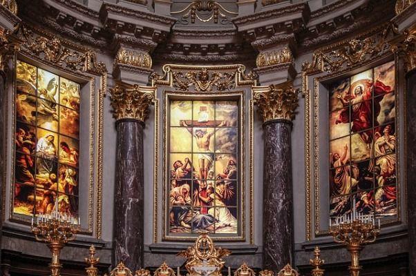 Altar de la catedral de Berlin
