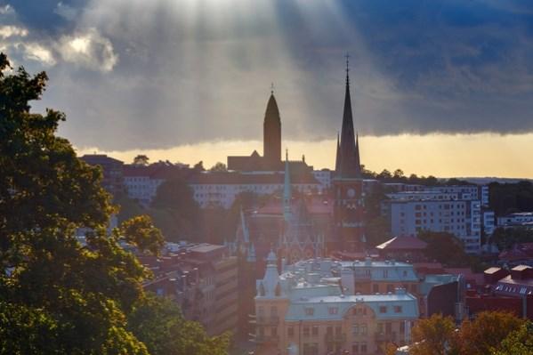 Vista de Gotemburgo