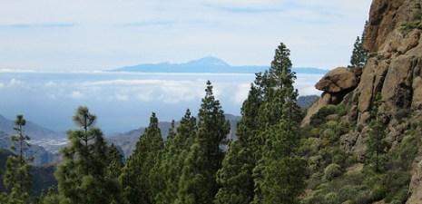 El Teide desde Gran Canaria