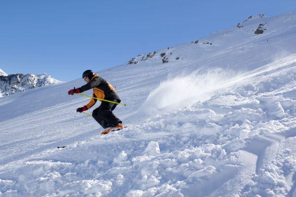 Esquiar en Candanchú