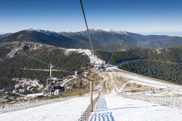 Esqui en Navacerrada