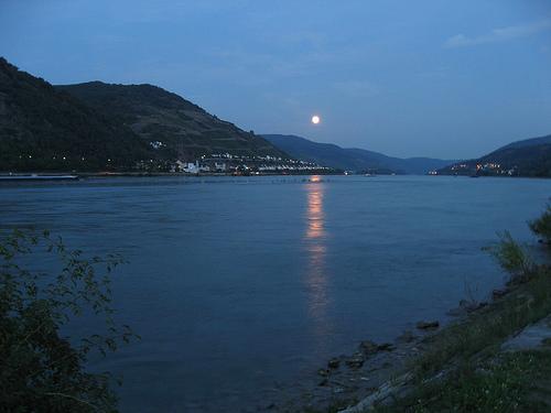 Río Rin, Suiza