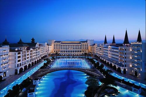 Mardan Palace, Antalya, Turquía