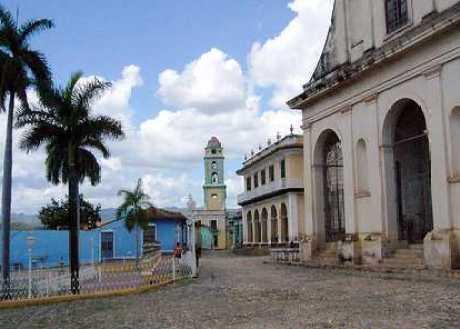 Plaza Mayor, Trinidad, Cuba