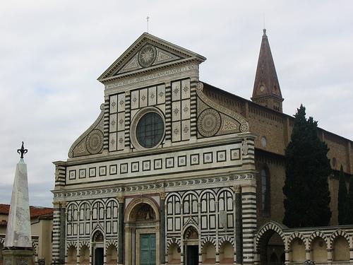 Iglesia de Santa María Novella, Florencia, Italia