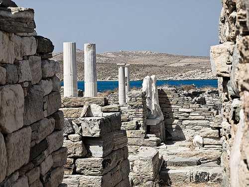 Delos, Miconos, Grecia