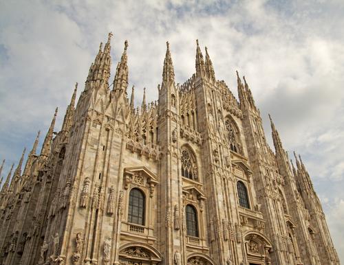 El Duomo, Milán, Italia