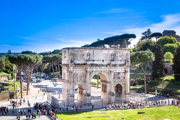 Arco de Constantino en Roma