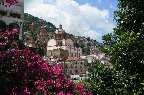 La iglesia de Taxco